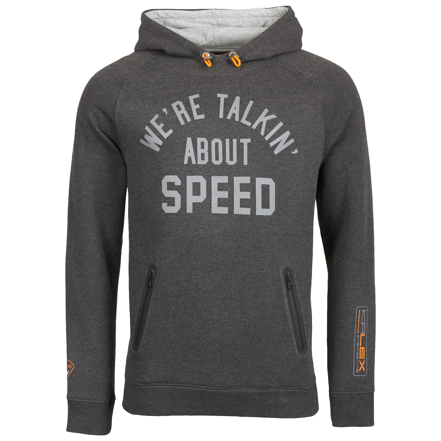 HOODED SWEATSHIRT ANTHRACITE HEATHER L
